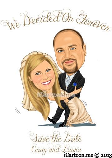 Save the date - wedding dance