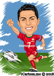 Cristiano Ronaldo in world cup 2018