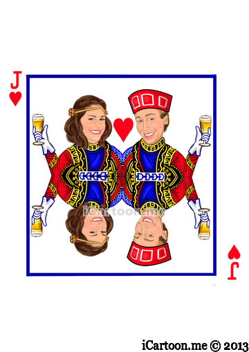 Wedding Invitation - Idea of King and Queen