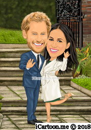 The wedding of Prince Harry and Ms. Meghan Markle