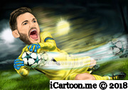 Hugo Lloris in world cup 2018