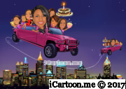 13 birthday celebration - Taking birthday girl and her girlfriends in pink hummer to different locations in Atlanta.