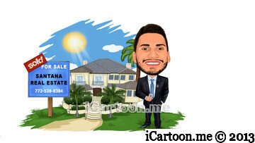 Realtor caricature