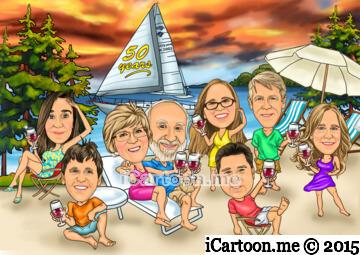 Happy 50th anniversary on the beach