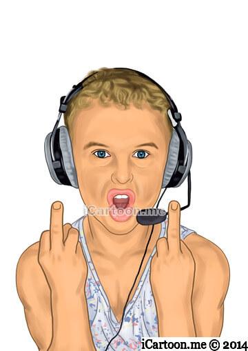 Cartoon me - online gamer social avatar